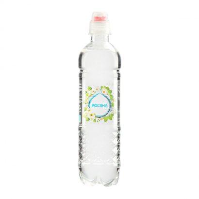 Вода питна артезіанська Росяна™ зі спорт-кришкою пляшка 0,5л - доставка воды - rosiana.ua - 380-44-303-999-3