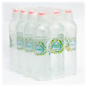 Вода питна артезіанська Росяна™ зі спорт-кришкою пляшка 0,5л упаковка - доставка воды - rosiana.ua - 380-44-303-999-3