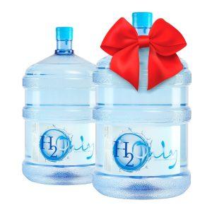Бутель в подарок Вода питна Н2Only™ 18,9л - доставка воды - rosiana.ua - 380-44-303-999-3