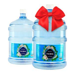 Бутель в подарок Вода питна Росяна™ зі зниженою мінералізацією 18,9л - доставка воды - rosiana.ua - 380-44-303-999-3