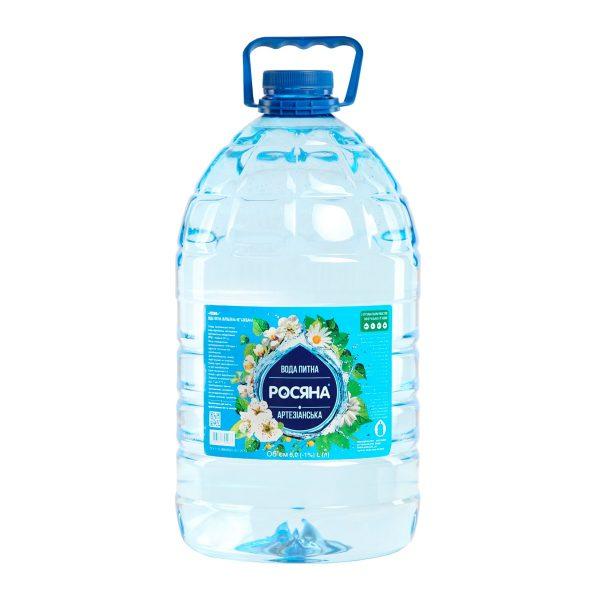 Вода питна Росяна™ 6л - доставка воды - rosiana.ua - 380-44-303-999-3