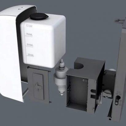 Безконтактний сенсорний дозатор для гелевого антисептика (оренда) - rosiana.ua - 380-44-303-999-3